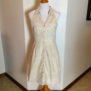 ANTONIO MELANI Eyelet Dress Size 12